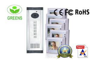7 Inch LCD Video Door Phone for 5 Familes (GVDP803B5)