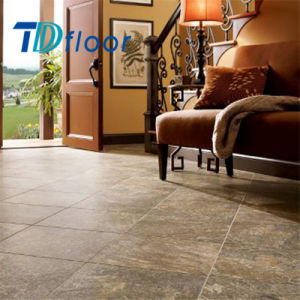 Stone & Ceramic Look Vinyl Plank Flooring, PVC Vinyl Flooring pictures & photos