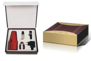 Electric Wine Gift Set S/4