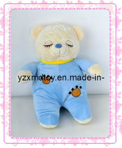 Cute Sleeping Bear Plush Baby Soft Toy pictures & photos