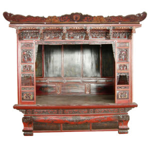 Carved Bed (BGZE-012)