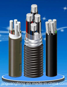 XLPE Insulation PVC Inner Sheath Inter-Locking Armored Aluminum Alloy Cable pictures & photos