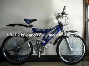 Blue Adult Suspension Bike with Good Quality (SH-SMTB078) pictures & photos