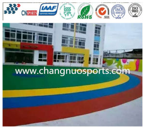 Various Bright Colour EPDM Flooring for School Yard Ground pictures & photos