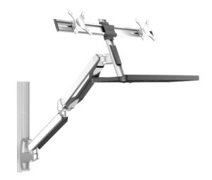 China Sit Stand Workstation Wall Mount Wlb772d Wfa