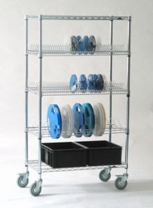 Storage Cable Reel Wire Shelf pictures & photos