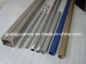 Powder Coated Paint 5A02 Aluminum Extrusion Tube /Tubing /Pipe Anodized pictures & photos