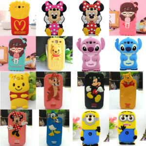 Custom 3D Cute Cartoon Silicone Phone Case Cove for Business Promotion