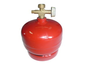 Hot Sale Small Compressed Customized LPG Gas Cylinder (AS-LPG-0.5KGB) pictures & photos
