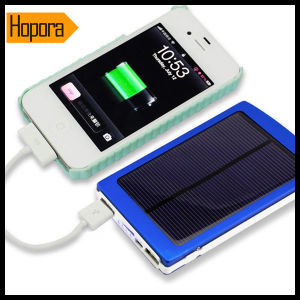Dual USB Ports 30000mAh Emergency Travel Solar Power Bank Mobile Phone Chrger pictures & photos
