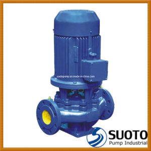 Single Stage Single Suction Vertical Pipeline Pump pictures & photos