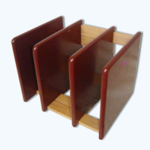 Practical Wooden Book / Magazine / Paper Holder (wj27898) pictures & photos