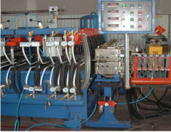 Plastic Hollow Grid Board Extrusion Line (SJ-150X30) pictures & photos