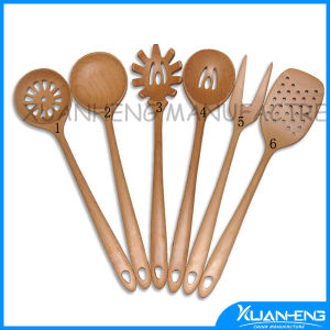 Promotional Gift Wooden Salt Spoon pictures & photos