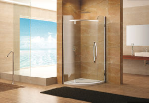 Simple Design Stainless Steel Hardware Shower Enclosure Fs-2812