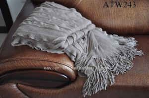 Falbalas Acrylic Throw/ Blanket (ATW243)