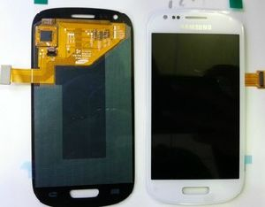 Mobile Phone LCD for Samsung Galaxy S3, Mini Repair Parts for Samsung Galaxy S3, LCD Touch Screen Assembly