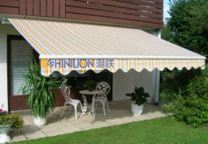 Retractable Awning With Semi-Cassette Style pictures & photos