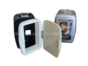 Plastic Small Car Refrigerator Mould pictures & photos