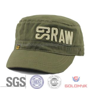 High Quality Army Hat with Embroidery (GKA05-C00002) pictures & photos