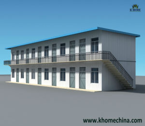 Easy Assembling Prefabricated House for Temporary Living pictures & photos