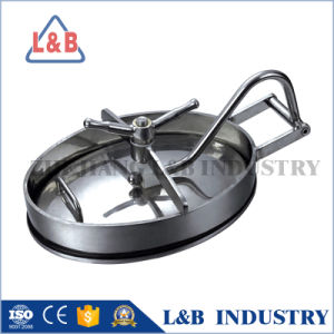 Stainless Steel Tank Pressure Manhole Cover pictures & photos
