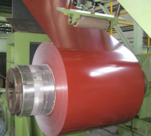 High Quality Prepainted Color Coated Galvanized Steel Coil/PPGI pictures & photos