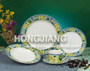 Porcelain 20pcs Dinner Set (6828#) pictures & photos