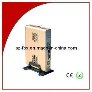 Mini Itx Case Thin Client Fox-525s Wireless WiFi Ncomputing with 6 USB Ports pictures & photos
