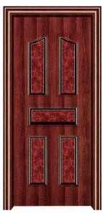 Interior Steel Wooden Door (FXGS-061) pictures & photos