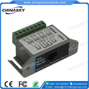 4CH Passive CCTV Video Balun Video Transceiver with RJ45 (VB804B) pictures & photos