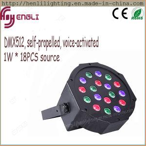 1W *18PCS Plastic Cover LED Wash PAR Disco Light