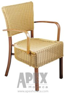 Wicker Armchair Garden Furniture Cafe Furniture Arm Chair pictures & photos