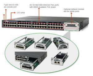 New Cisco 48 Port Gigabit Network Switch (WS-C3560X-48T-E) pictures & photos