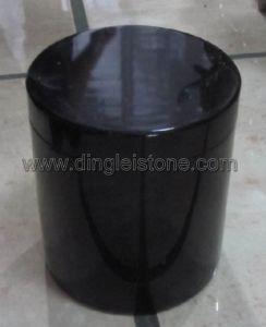 Granite Urn, Black Granite Urn