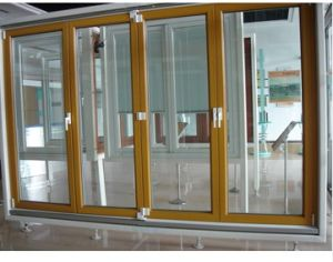 Wooden Aluminium Casement Door pictures & photos