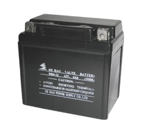 12V4AH/10HR Sealed Rechargeable Lead Acid Battery (YTX4L-BS)