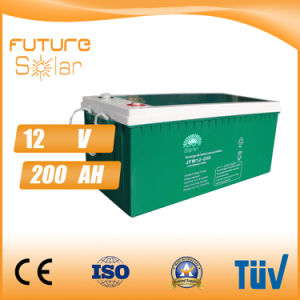 Futuresolar Storage System 12V 200ah Deep Cycle Solar Battery pictures & photos