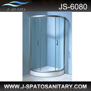 Simple Shower Cubicles, Shower Screen, Simple Room (JS-6080) pictures & photos