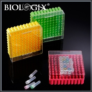 Hold 0.5ml, 1.5ml or 2.0 Ml Cryotubes 100-Well Storage PC Freezer Boxes