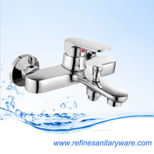 Fashionable Chrome Bathtub Shower Mixer Faucet (R5002-3M)