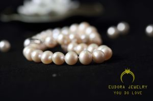 Fashion Female Beautiful Freshwater Pearl Necklace (XL0301)