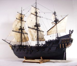 Model Ship Kits-The Black Pearl