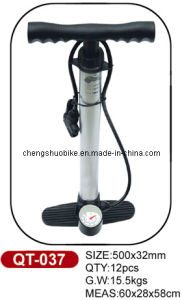 Hot Selling High-Grade Bicycle Pump Qt-037 pictures & photos