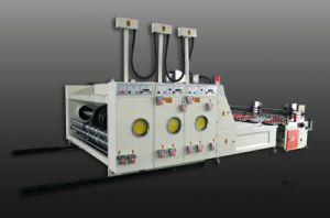 Automatic Flexo Printing and Slotting Machine pictures & photos