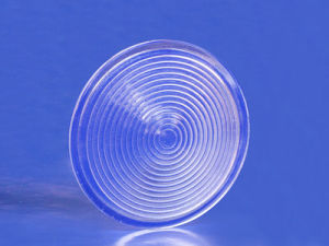 Optical Glass Fresnel Lens for LED pictures & photos