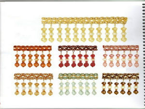 Designer Home Decor Beaded Fringe for Curtain Accessories (GM-B-340)