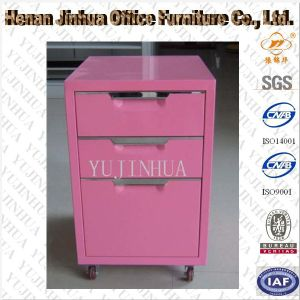 Modern Steel Small Mobile Cabinet (JH-051N)