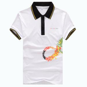 Customize Men′s DIY Short Sleeve 100%Cotton Polo T-Shirts