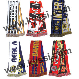 Club Teams Tatted Football Scarf